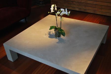 Lampes design tables en b ton cir for Table basse aspect beton